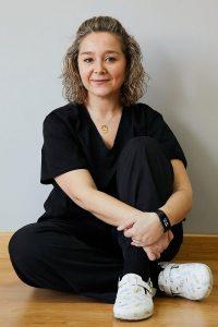 Ana Isabel García-Saavedra, fisioterapia y osteopatía, Clínica Nortia