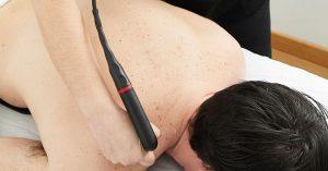 Aplicación de Tratamiento Indibaterapia Tecarterapia en Clínica Nortia. Tratamiento del dolor.